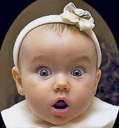 suprised Baby